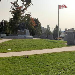 Photo of Peterborough Citizens War Memorial and Veterans Wall of Honour