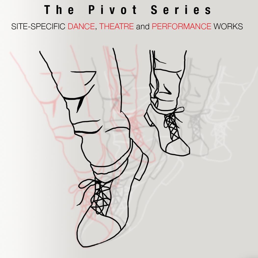 Drawing a feet pivoting