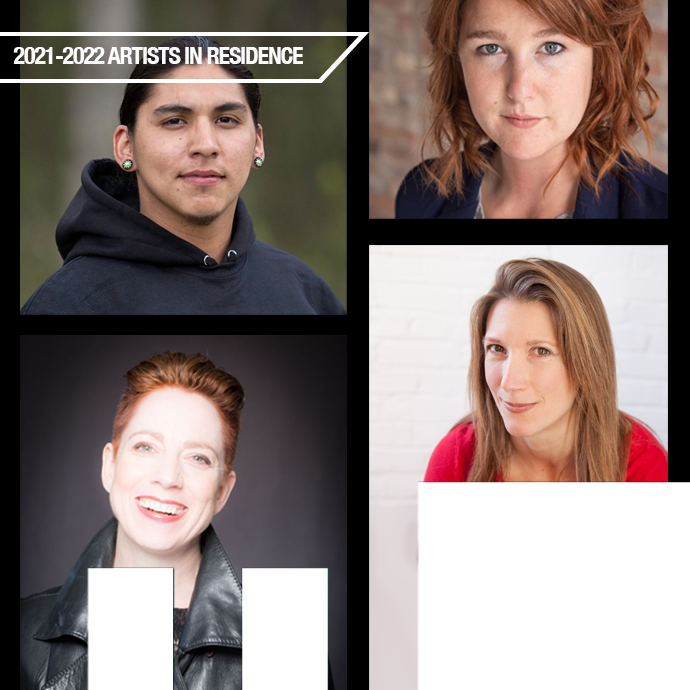 2021-2022 Artists in Residence  in the photo.