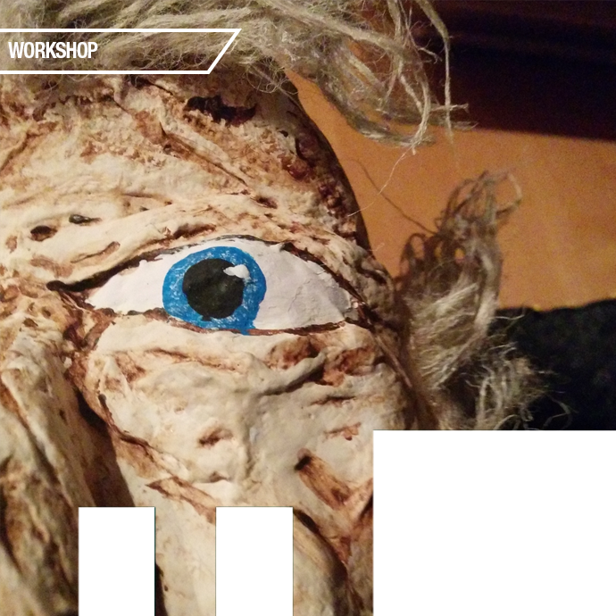 Introduction to Puppetry <BR>(A Common Threads Collective Workshop)  in the photo.